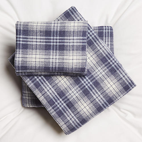 Nicholas Sheet Set, Navy
