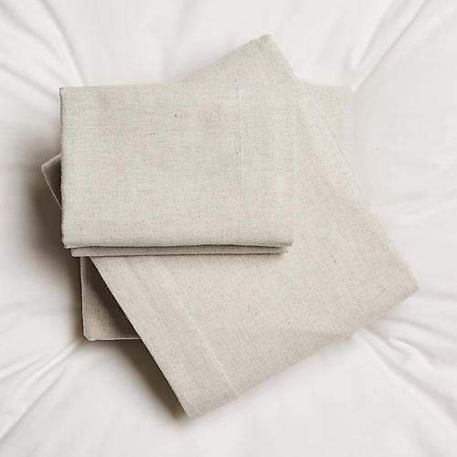 Sadi Sheet Set, Oatmeal