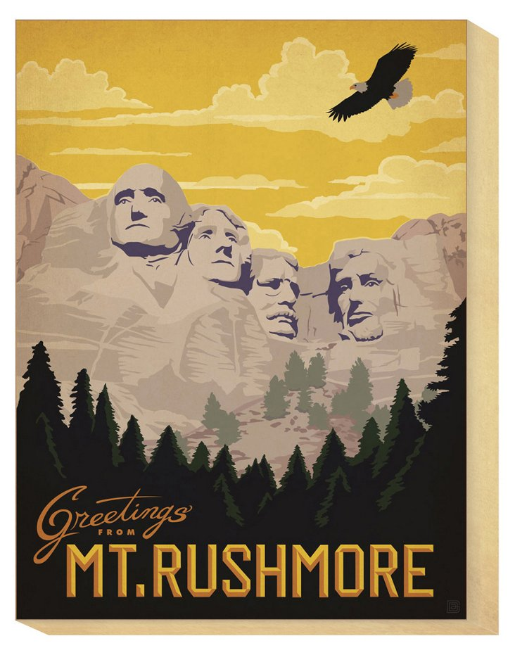 Greetings From Mt. Rushmore