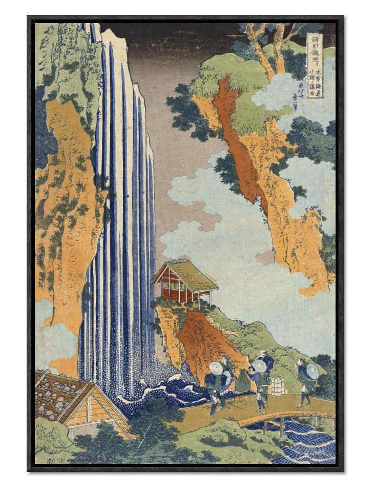 Hokusai, Ono Waterfall, The Kiso Highway