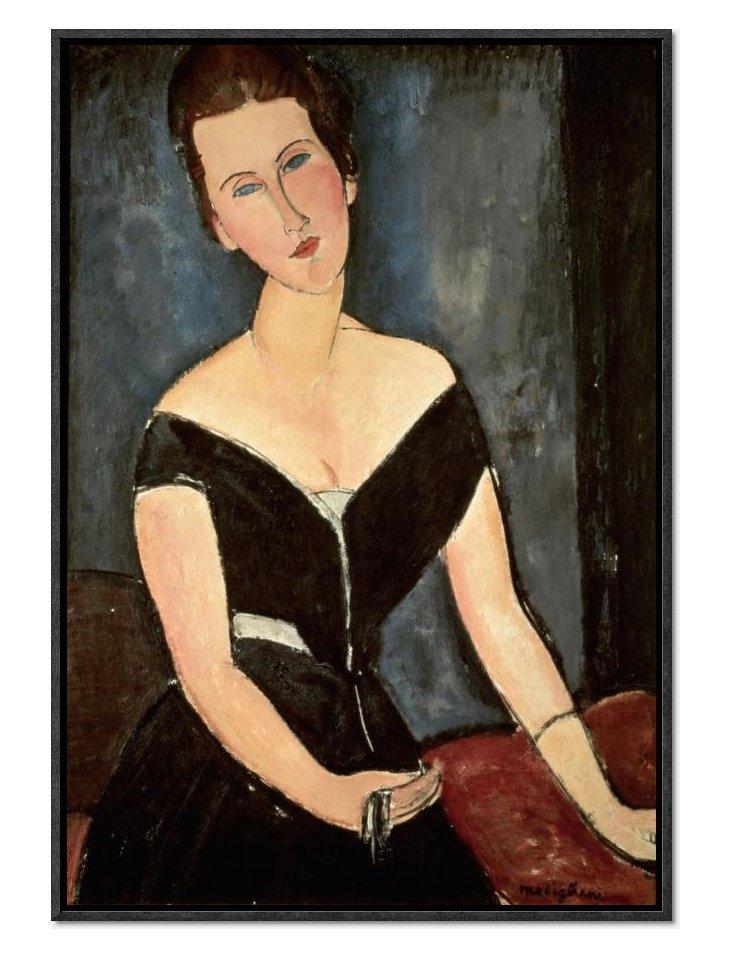Amedeo Modigliani, Madame G. Van Muyden