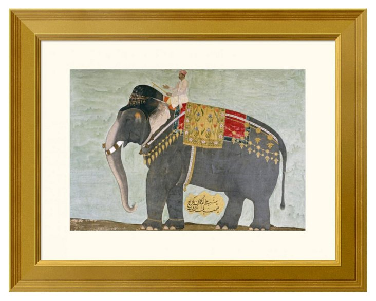 Mughal, The Elephant 'Alam-Guman Gajraj'