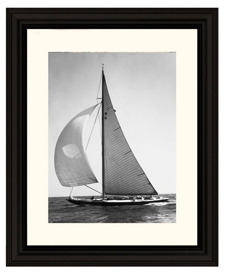 Unknown, Full Front Sail, 1936