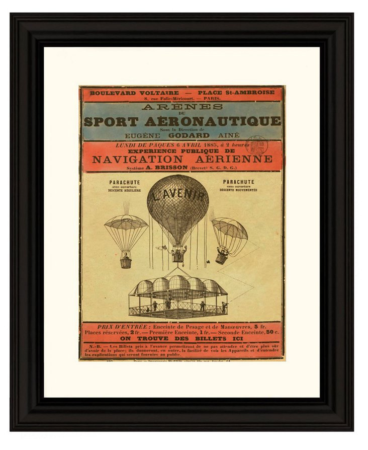 Announcement of a Balloon Ascension