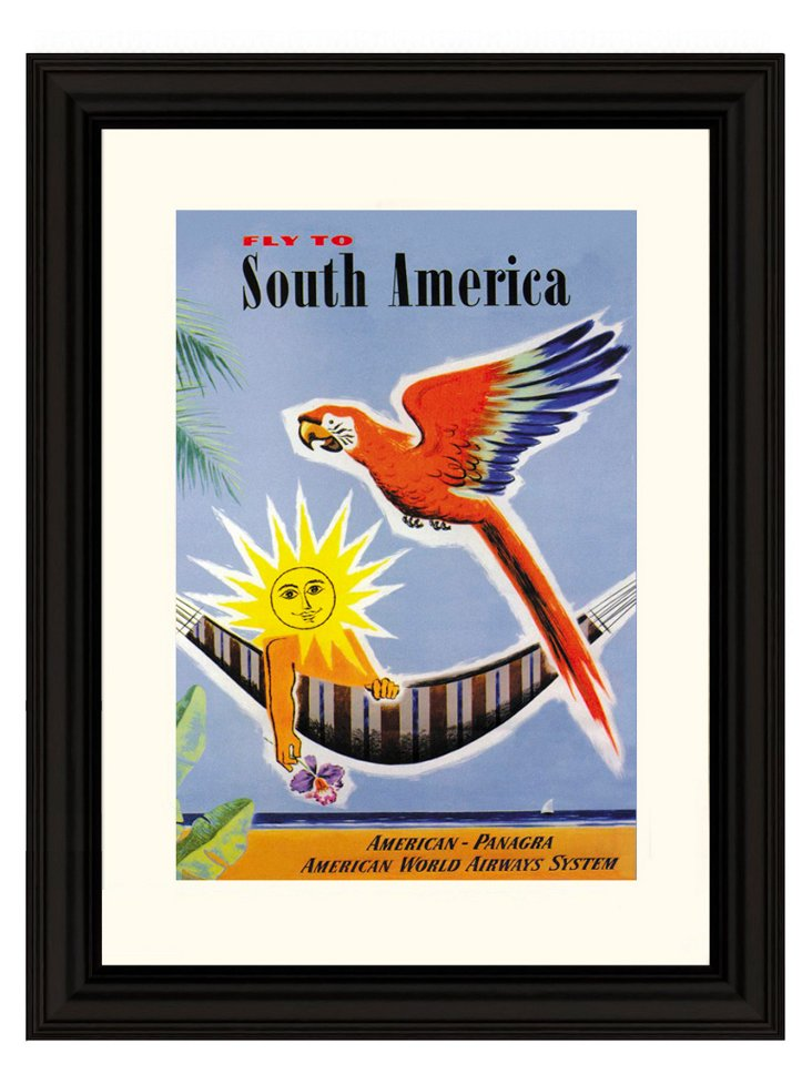 Jean Dubois, Fly to South America