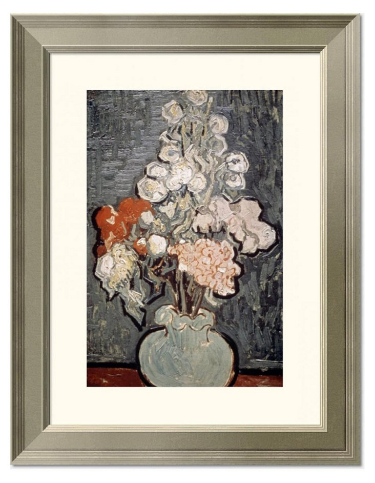 Van Gogh, Vase With Rose-Mallows