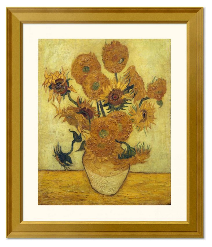 Van Gogh, Vase with Fifteen Sunflowers