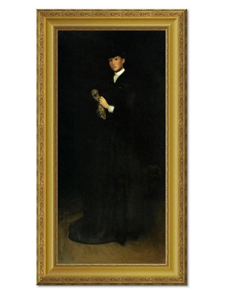 Whistler, Portrait of Mrs. Cassatt 1883