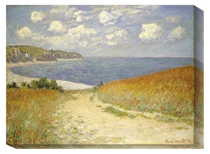 Monet, Wheat Fields at Pourville, 1882