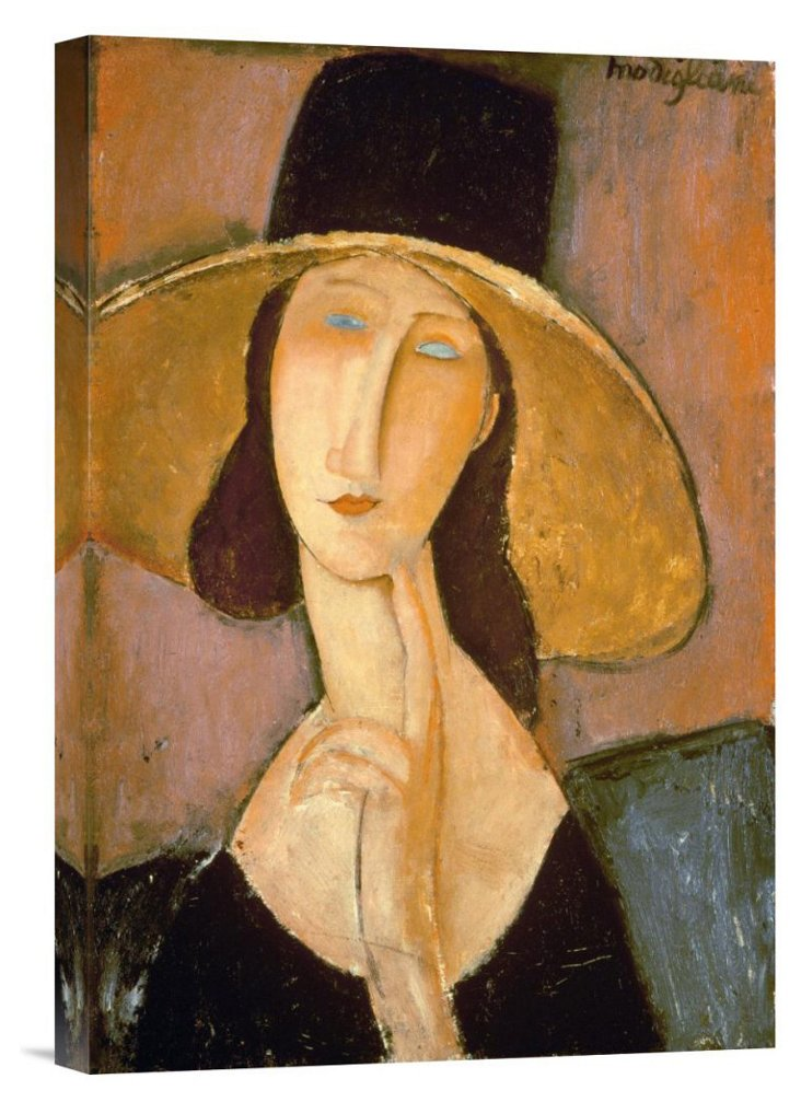 Amedeo Modigliani, Head of a Woman