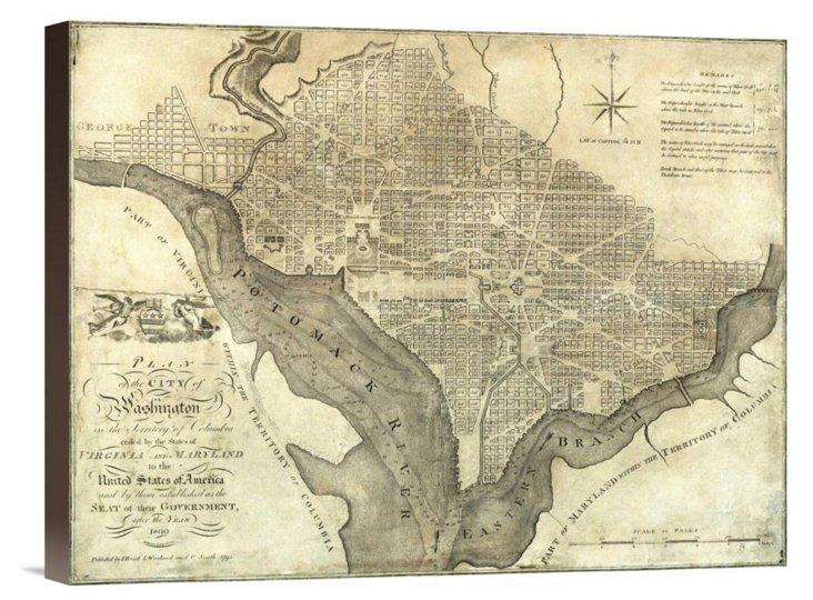 John Reid, Washington, City Plan 1795