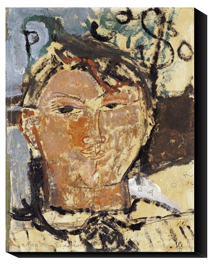 Modigliani, Portrait De Picasso