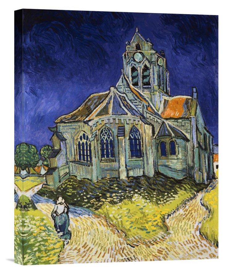 Van Gogh, The Church at Auvers