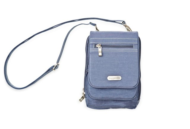 Bon Voyage Crossbody, Steel Blue