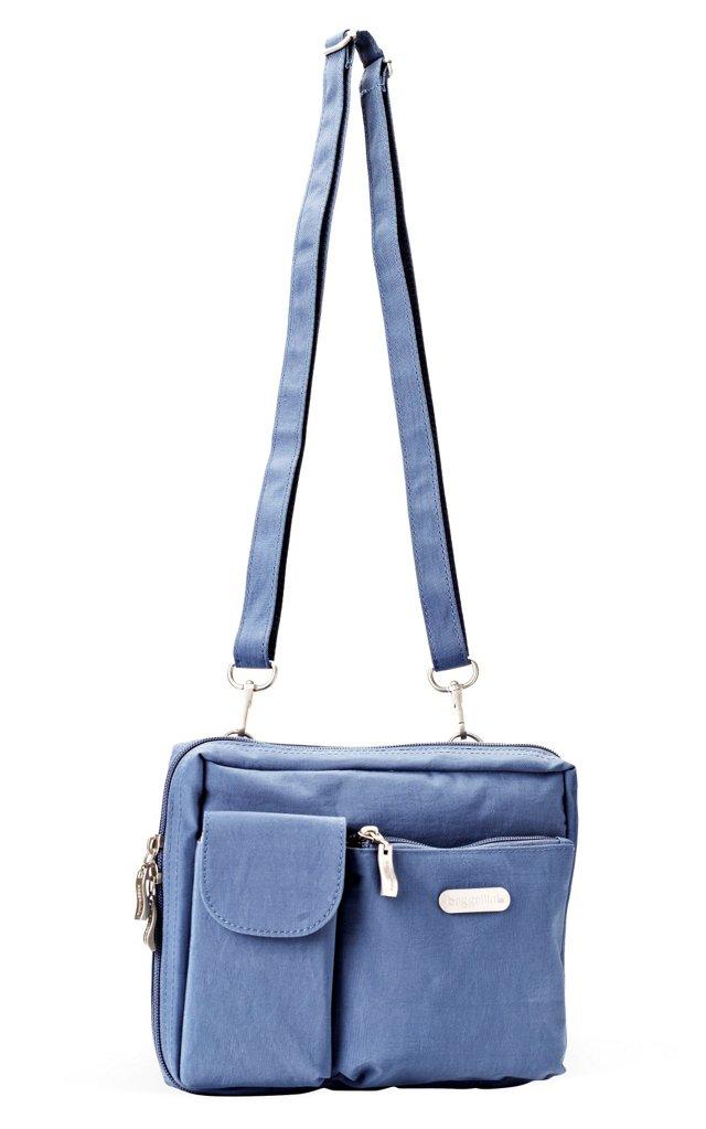 Large Wallet Bagg, Steel Blue