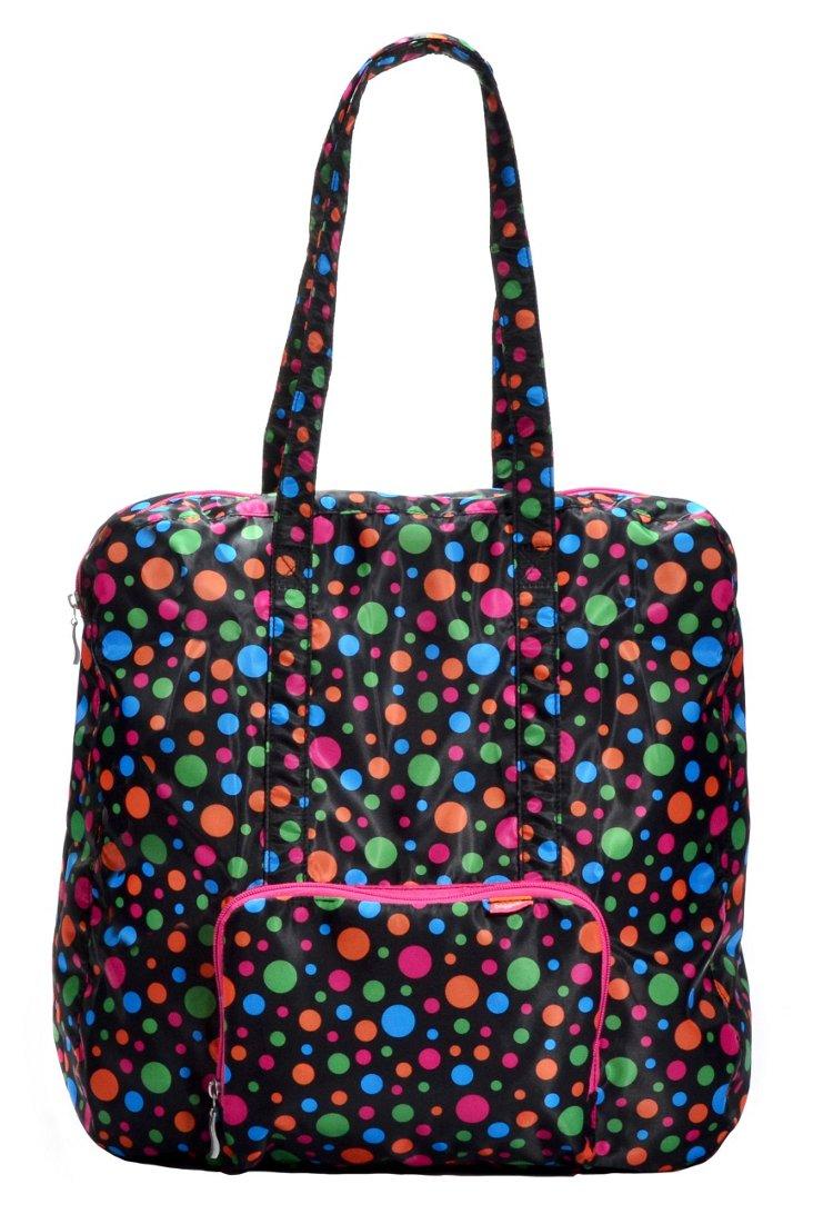 Medium Zip-out Travel Bag, Polka Dot