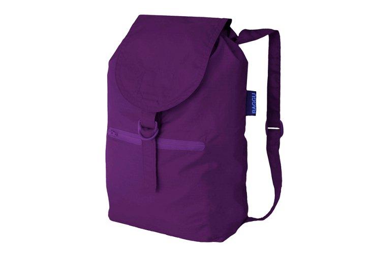 Canvas Backpack, Purple