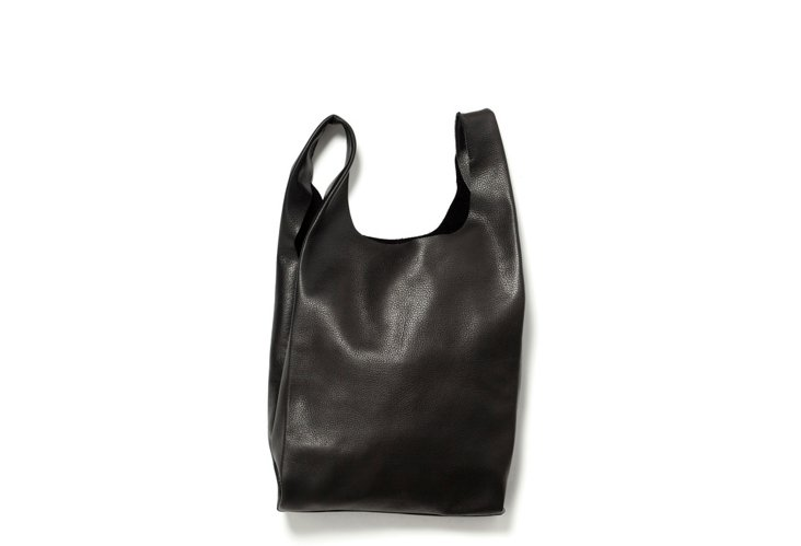 Small Leather Bag, Black