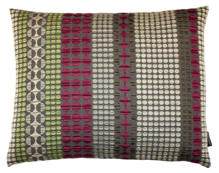 Darvill 17x14 Pillow, Red