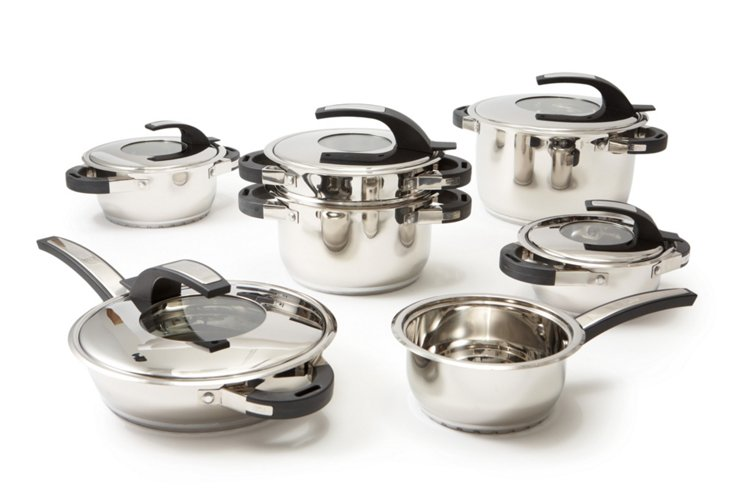 12-Pc Swissler Royal Cookware Set