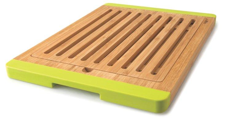 Open Groove Bamboo Bread Board
