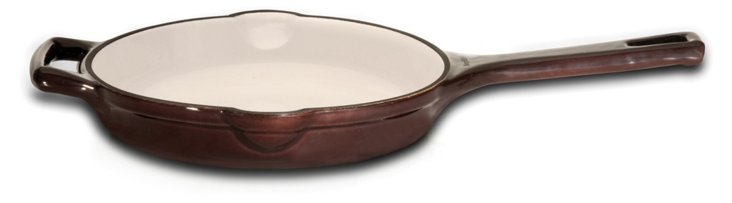 "9"" Neo Cast Iron Fry Pan, Brown"