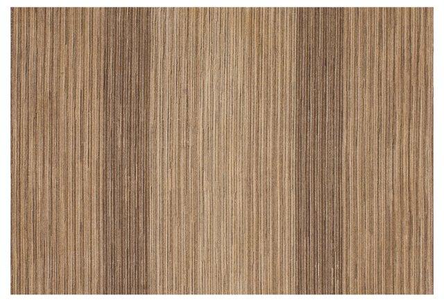 Birch Flat-Weave Rug, Mocha