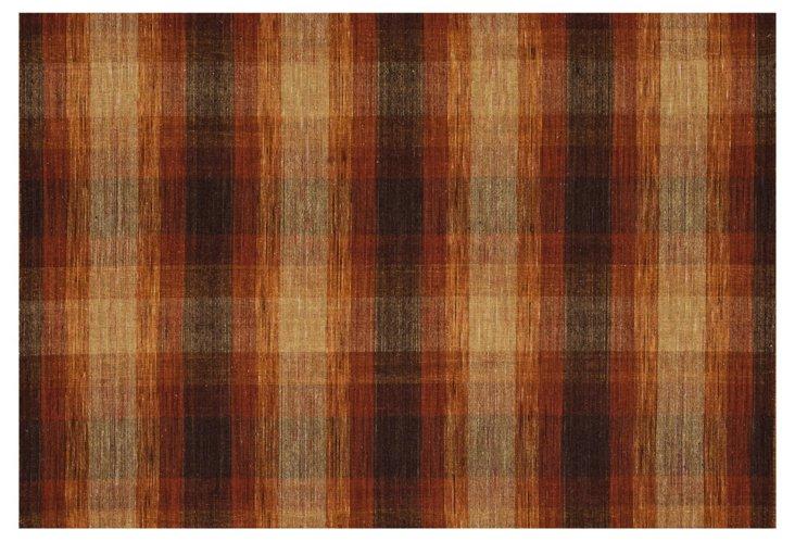 Rowan Flat-Weave Rug, Brown
