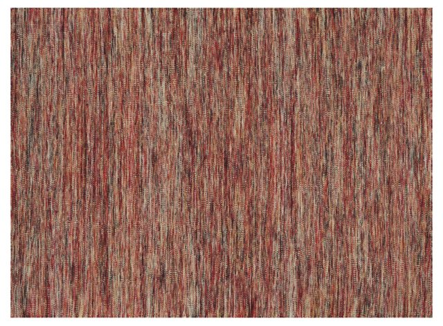 Genevieve Flat-Weave Rug, Brick