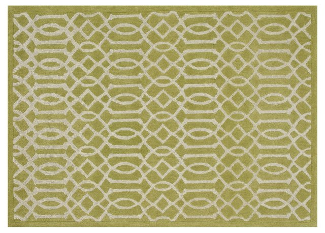 Soto Rug, Apple Green