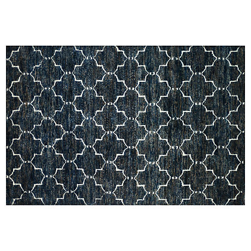 Tricia Jute-Blend Rug, Midnight