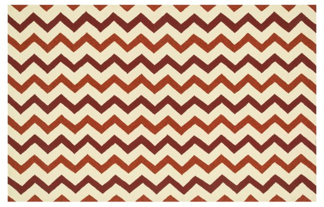 Charlotte Outdoor Rug, Red