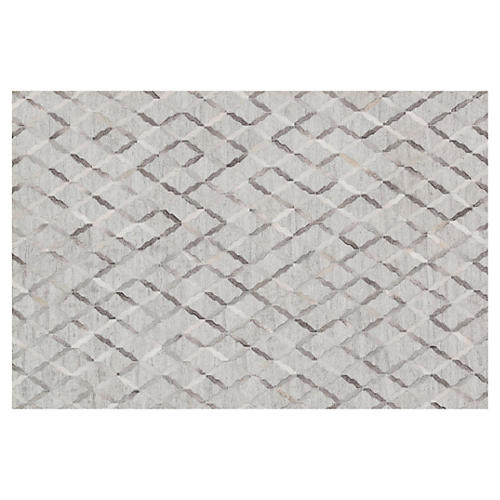 Grafton Hide Rug, Gray