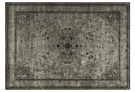 Archie Rug, Silver/Black
