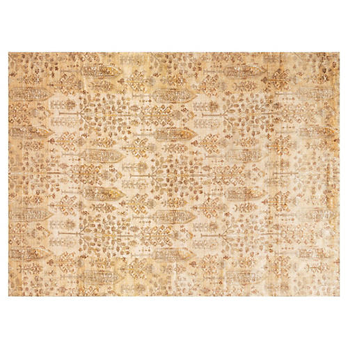 Flectcher Rug, Ivory/Gold