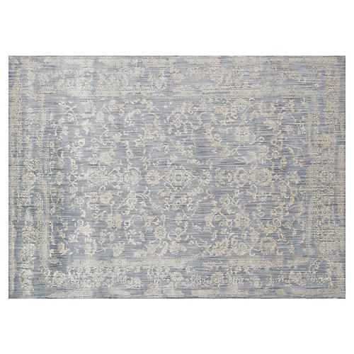 Ogden Rug, Light Blue/Beige