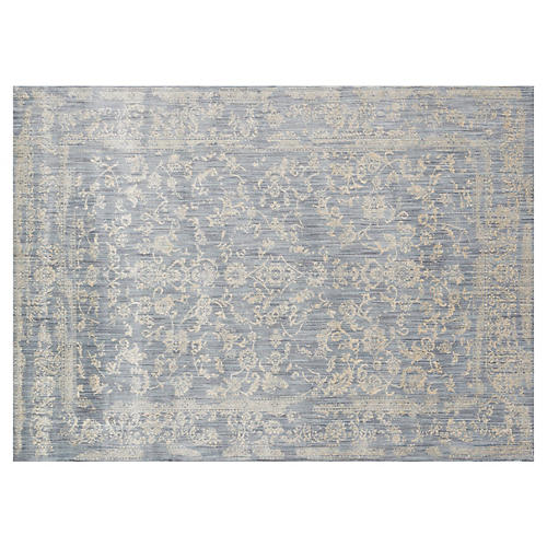 Ogden Rug, Light Blue/Beige