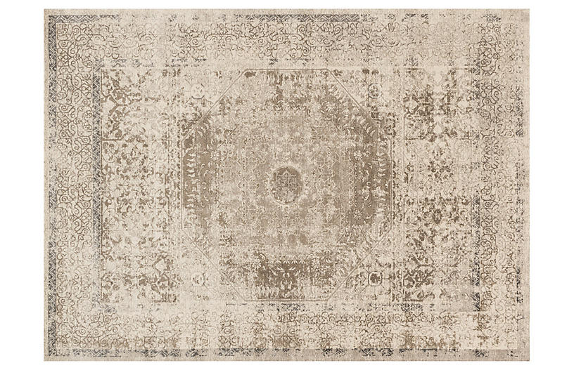 Levan Rug, Taupe/Sand