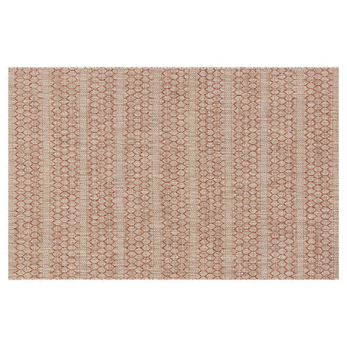 Stewart Outdoor Rug, Beige/Rust