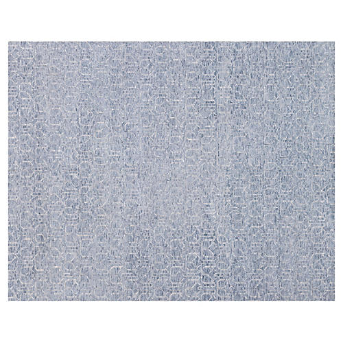 Eloise Hand-Knotted Rug, Denim