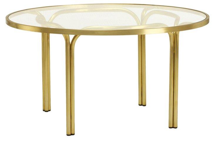 Kantan Brass Chat Table