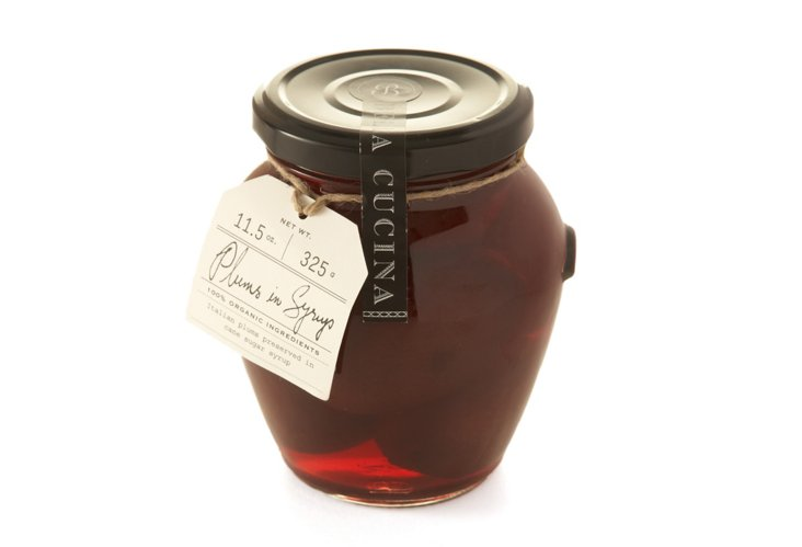 Organic Plums in Syrup w/ Recipe Card