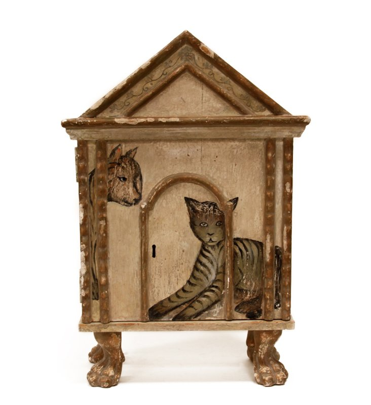 Cat and Mouse Curio Box
