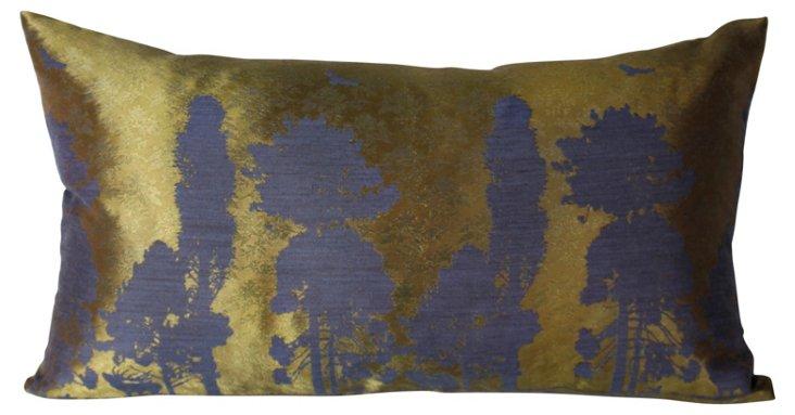 Huntley Indigo 14x24 Pillow
