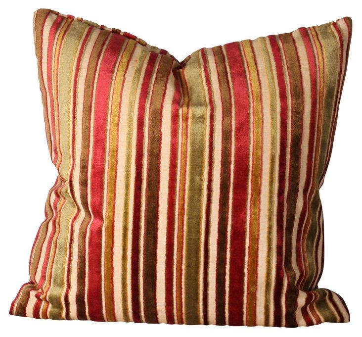 Sultan Stripe 18x18 Pillow