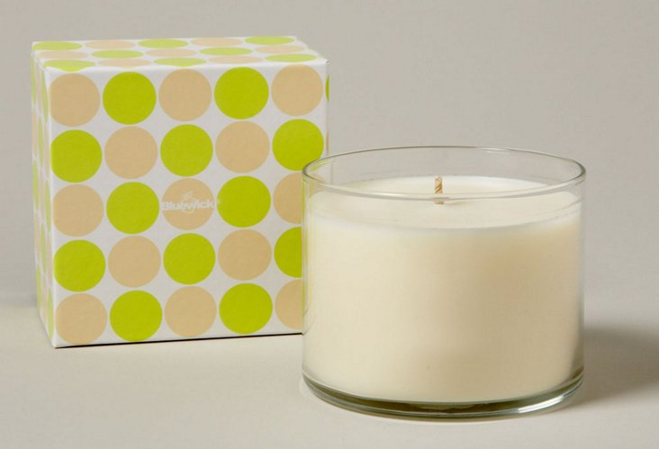 Bluewick Groove Vino Candle