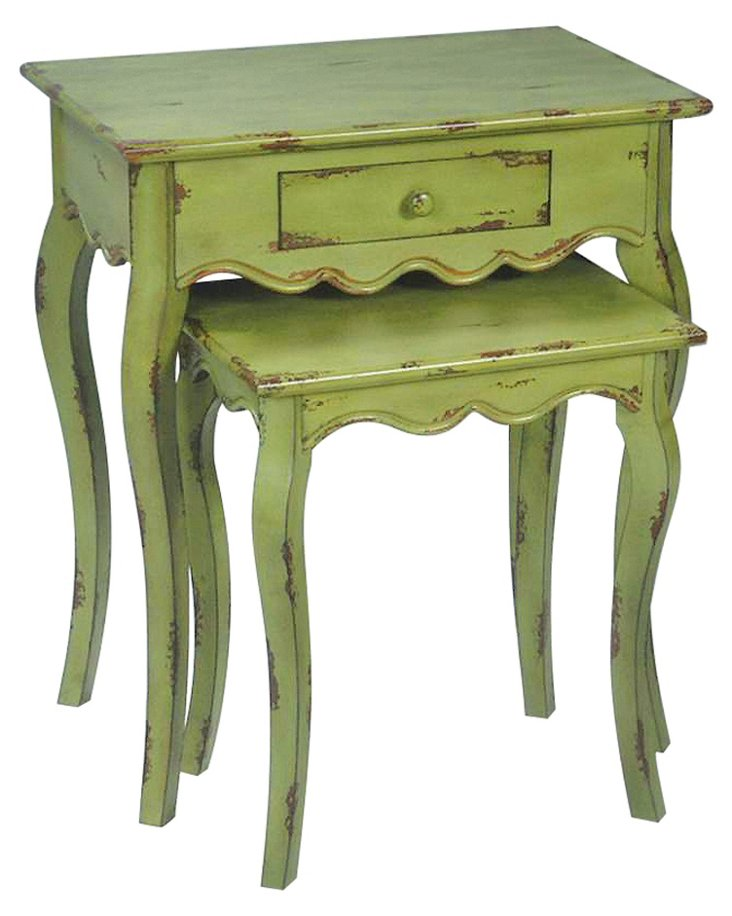 Verde Stacking Tables, Set of 2