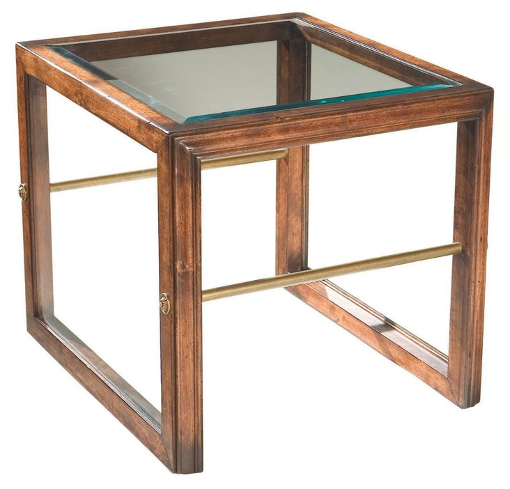Vergennes Square Cocktail Table, Walnut