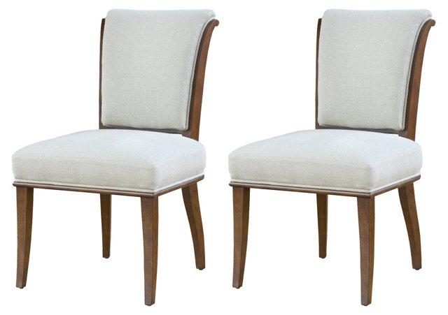 DNU, DISC Simone Dining Chairs, Pair