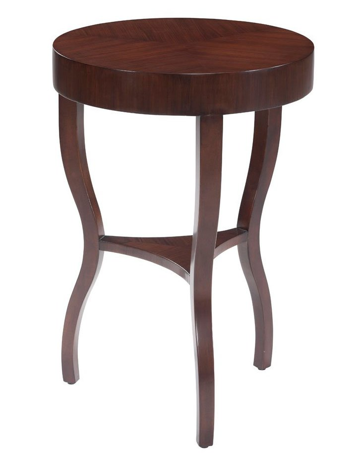 Michelle Side Table, Sepia
